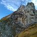 Auch hier musste ich passen: Brüchiges Band am Pointes de Châtillon W-Gipfel