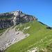 Gipfelaufbau des Fluebrig (Diethelm)