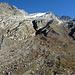 Die markante Moräne zum Gletscher hoch
