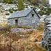 Die Selbstversorgerhütte der Alpe dei Laghetti