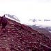 Im Aufstieg zur Wildspitze kurz nach der Vernagthütte (2766m) , vorn der Vernagtferner