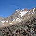 Die Wildspitze mit Mitterkarjoch von der Breslauer Hütte