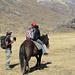 Al campo è stato ritrovato questo cavallo e Giovanna parte alla ricerca del padrone: lo troverà dopo una mezz'ora