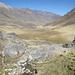 Le pampas degradanti sono solcate dal Rio Huanacpatay da cui prende il nome tutta la zona