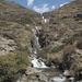 Cascate del Rio Huanacpatay nel punto di congiunzione con il Rio Calinca: da ora prende il nome di Rio Huaylloma