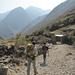 Si incominciano a vedere le case di Huayllapa 3490m, nostra tappa odierna