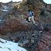 kleines Felsbändli auf ca. 2650 m, unterhalb der Fuorcl' Alv