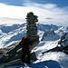 Auf dem Gipfel des Frunthorn 3030m