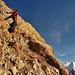Steilstück unterm Gipfel