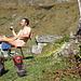 relaxing Fumegna beer