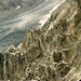 Bizarre Felskämme vor dem Lötschengletscher