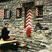 Zurück auf der heimeligen Balmhornhütte, die gerade winterfest gemacht wurde.