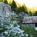Abstieg vom Monte Zucchero nach Sonogno - Cortign 1526m hat Glück im Unglück gehabt