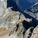 Blick vom Monte Zucchero auf den Grat mit der Bocchetta di Tome links aussen