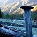 Capanna Alpe Osura - ein wunderschöner Tag erwacht