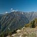 Blick über das Tal in das Val di Corippo
