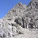 Westlicher Berg der guten Hoffnung im Detail, ein wirklich schroffer Zeitgenosse