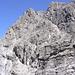das Gipfelkreuz des Westlichen Bergs der guten Hoffnung ist sichtbar