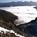 Nebelmeer über St.Moritz und Pontresina