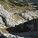 Klettersteig Rückblick Richtung Osterfelderkopf