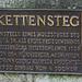 Geschichte des Kettenstegs