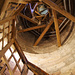 Treppe hinauf auf den Sinwellturm