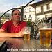 We zijn veilig in Verbania aangekomen en hebben een biertje verdiend!