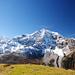Königsspitze, Zebru (etwas versteckt), Ortler