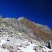 Blockwerk unterhalb des Gipfels