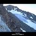 Blick von der Scharte - der Gletscher sollte lt. Karte bis zur Scharte reichen...