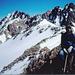 Auf dem Verbindungsgrat der beiden Eckpunkte des Golegghorns ( 3077m - 3063m )