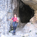 Il tunnel fra i rifugi Brentei e Casinei.