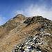 Der Aufstieg von P. 2387 zum Gipfel enthält ein paar hübsche Kraxelstellen