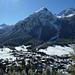 Im Aufstieg nach Latsch mit Blick auf Bergün.