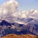 Blick zu den Berner Alpen