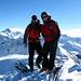 Auf dem Gipfel des Büelenhorn 2808m