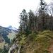 Kammwanderung zur Harauer Spitze, links die Schnee bedeckte Rudersburg