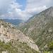 Blick Talauf in Richtung Cortijo del Iman