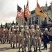 Amerikanisches Militär beim Einmarsch.