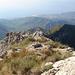 Der Südgrat des Almendron. Dahinter der Baranco de Coladilla und das Meer.