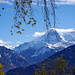 Föhnwalzen über den Berner Alpen