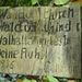 Beim Abzweiger zur Walhalla