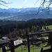Blick vom Höhenweg in Richtung Bregenzerwald Gebirge