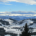 Blick vom Kojen ins Bregenzerwaldgebirge