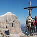 Croix du sommet du Lagazuoi (2778m)