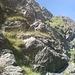 weiterer Verlauf des Klettersteigs