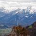 Kleiner Barmstein mit Maibaum, dahinter Tennengebirge