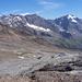bereits weit oben mit der Stubaier Gletscherbahn