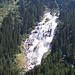 der beeindruckende Grawawasserfall, an dessen rechter Seite der neue Wilde-Wasser-Weg zur Sulzenau-Alm führt - sehr empfehlenswert!<br /><br />(Mehr Bilder siehe Tourenbericht Großer Trögler Überschreitung)