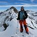 Auf dem Gipfel des Ober Rappehorn 3176m